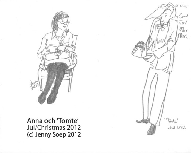 Jul 2 - Anna and Tomte