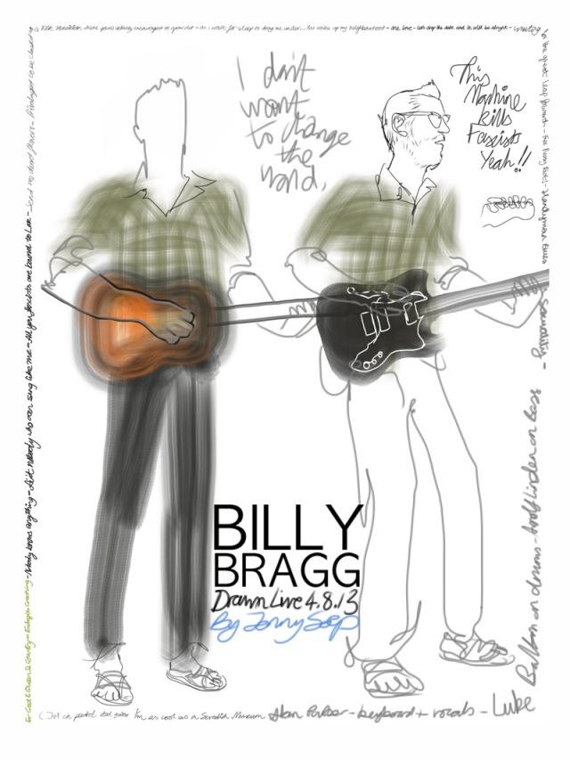 BILLY BRAGG by Jenny Soep 040813s
