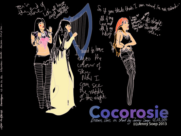 Cocorosie By Jenny Soep 02082013 s